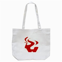 Fever Time Tote Bag (white) by Viewtifuldrew