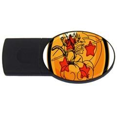 The Search Continues 4gb Usb Flash Drive (oval) by Viewtifuldrew