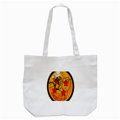 The Search Continues Tote Bag (white) by Viewtifuldrew