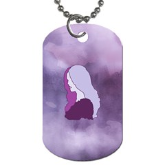 Profile Of Pain Dog Tag (one Sided) by FunWithFibro