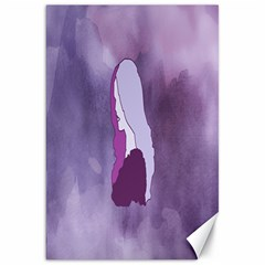 Profile Of Pain Canvas 20  X 30  (unframed) by FunWithFibro