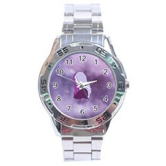 Profile Of Pain Stainless Steel Watch by FunWithFibro
