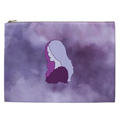 Profile Of Pain Cosmetic Bag (xxl) by FunWithFibro