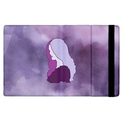 Profile Of Pain Apple Ipad 3/4 Flip Case by FunWithFibro