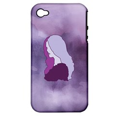 Profile Of Pain Apple Iphone 4/4s Hardshell Case (pc+silicone) by FunWithFibro