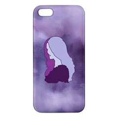 Profile Of Pain Apple Iphone 5 Premium Hardshell Case by FunWithFibro