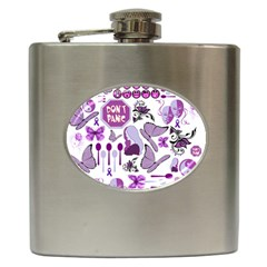 Fms Mash Up Hip Flask by FunWithFibro