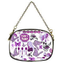 Fms Mash Up Chain Purse (two Sided)  by FunWithFibro