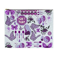 Fms Mash Up Cosmetic Bag (xl) by FunWithFibro