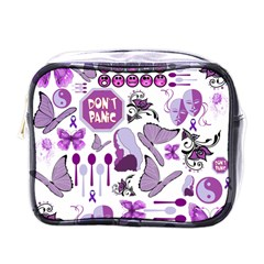 Fms Mash Up Mini Travel Toiletry Bag (one Side) by FunWithFibro