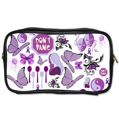Fms Mash Up Travel Toiletry Bag (one Side) by FunWithFibro