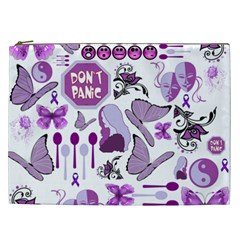 Fms Mash Up Cosmetic Bag (xxl) by FunWithFibro
