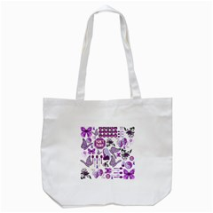 Fms Mash Up Tote Bag (white) by FunWithFibro