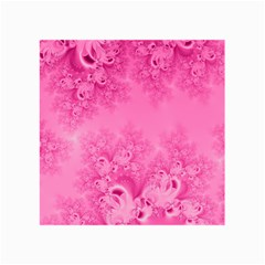 Soft Pink Frost Of Morning Fractal Canvas 36  X 48  (unframed) by Artist4God