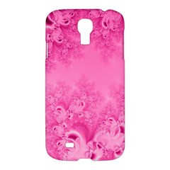 Soft Pink Frost Of Morning Fractal Samsung Galaxy S4 I9500/i9505 Hardshell Case by Artist4God