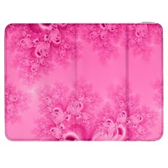 Soft Pink Frost Of Morning Fractal Samsung Galaxy Tab 7  P1000 Flip Case by Artist4God