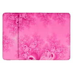 Soft Pink Frost Of Morning Fractal Samsung Galaxy Tab 8 9  P7300 Flip Case by Artist4God
