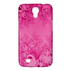 Soft Pink Frost Of Morning Fractal Samsung Galaxy Mega 6 3  I9200 Hardshell Case