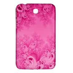 Soft Pink Frost Of Morning Fractal Samsung Galaxy Tab 3 (7 ) P3200 Hardshell Case