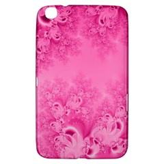 Soft Pink Frost Of Morning Fractal Samsung Galaxy Tab 3 (8 ) T3100 Hardshell Case