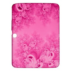 Soft Pink Frost Of Morning Fractal Samsung Galaxy Tab 3 (10 1 ) P5200 Hardshell Case  by Artist4God