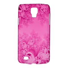 Soft Pink Frost Of Morning Fractal Samsung Galaxy S4 Active (i9295) Hardshell Case by Artist4God