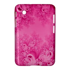 Soft Pink Frost Of Morning Fractal Samsung Galaxy Tab 2 (7 ) P3100 Hardshell Case  by Artist4God