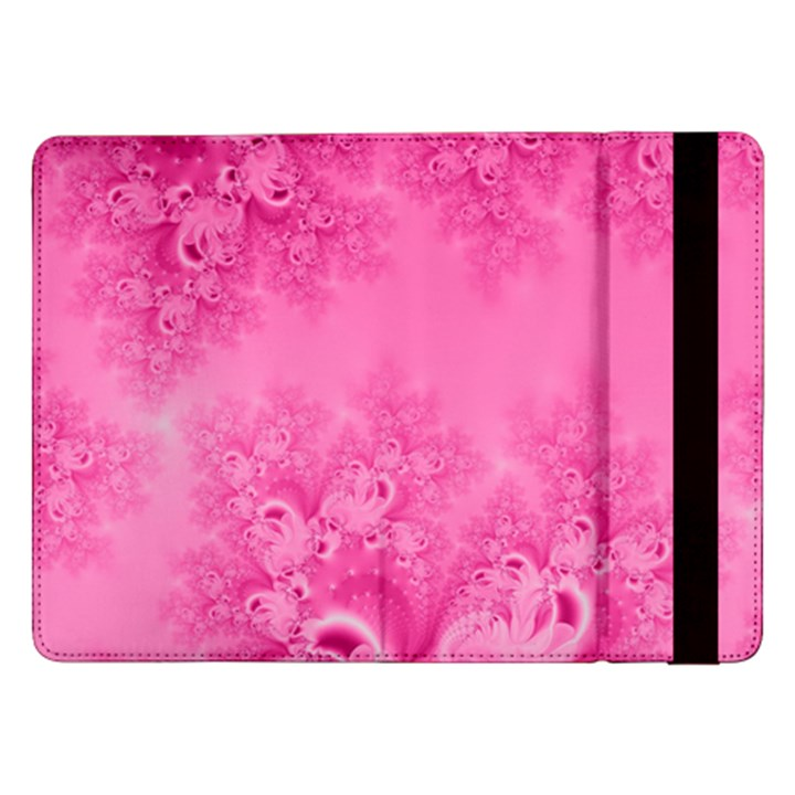 Soft Pink Frost of Morning Fractal Samsung Galaxy Tab Pro 12.2  Flip Case