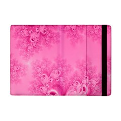 Soft Pink Frost Of Morning Fractal Apple Ipad Mini 2 Flip Case by Artist4God