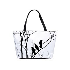 Night Birds Large Shoulder Bag