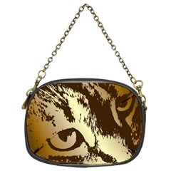 Tigre Chat Chain Purse (two Sided)