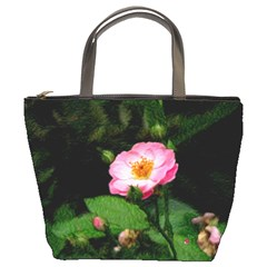 Rose Of Mine Bucket Handbag