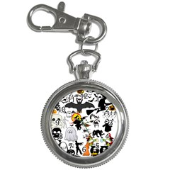 Halloween Mashup Key Chain Watch by StuffOrSomething