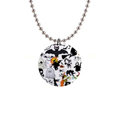 Halloween Mashup Button Necklace by StuffOrSomething