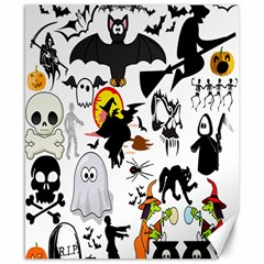 Halloween Mashup Canvas 8  X 10  (unframed) by StuffOrSomething