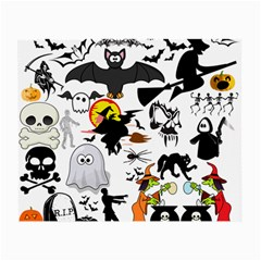 Halloween Mashup Glasses Cloth (small, Two Sided) by StuffOrSomething