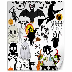 Halloween Mashup Canvas 11  X 14  (unframed) by StuffOrSomething