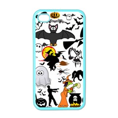 Halloween Mashup Apple Iphone 4 Case (color) by StuffOrSomething