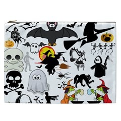 Halloween Mashup Cosmetic Bag (xxl) by StuffOrSomething