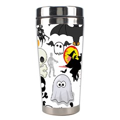 Halloween Mashup Stainless Steel Travel Tumbler by StuffOrSomething