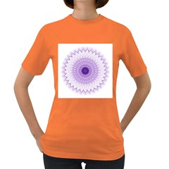 Mandala Women s T-shirt (colored) by Siebenhuehner