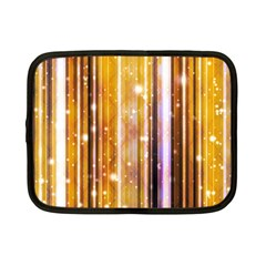 Luxury Party Dreams Futuristic Abstract Design Netbook Sleeve (small) by dflcprints