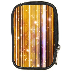 Luxury Party Dreams Futuristic Abstract Design Compact Camera Leather Case by dflcprints