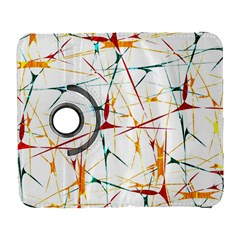 Colorful Splatter Abstract Shapes Samsung Galaxy S  Iii Flip 360 Case by dflcprints