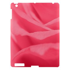 Pink Silk Effect  Apple Ipad 3/4 Hardshell Case by Colorfulart23