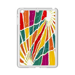 Multicolored Vibrations Apple Ipad Mini 2 Case (white) by dflcprints