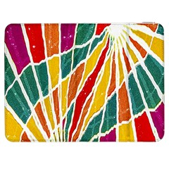 Multicolored Vibrations Samsung Galaxy Tab 7  P1000 Flip Case by dflcprints