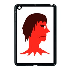 Monster With Men Head Illustration Apple Ipad Mini Case (black) by dflcprints