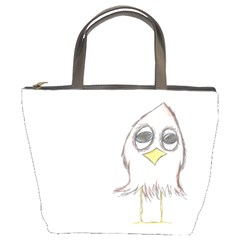 Cool Bird Bucket Handbag by MelDeAbella