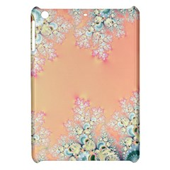 Peach Spring Frost On Flowers Fractal Apple Ipad Mini Hardshell Case by Artist4God